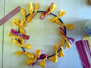 how to make an autumn wreath