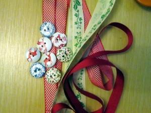 ribbon christmas decorations