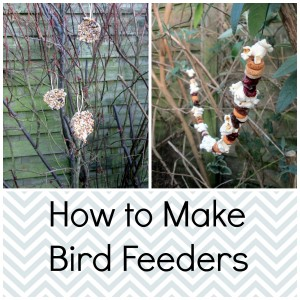 how to make bird feeders