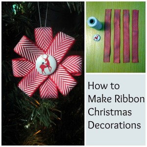 collage ribbon decorations