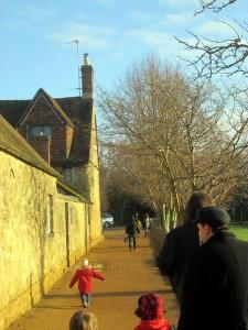 winter colour palette Oxford