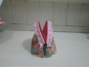 little purse lace zip