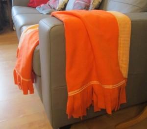 fleece blanket throw