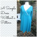 Collage simple dress