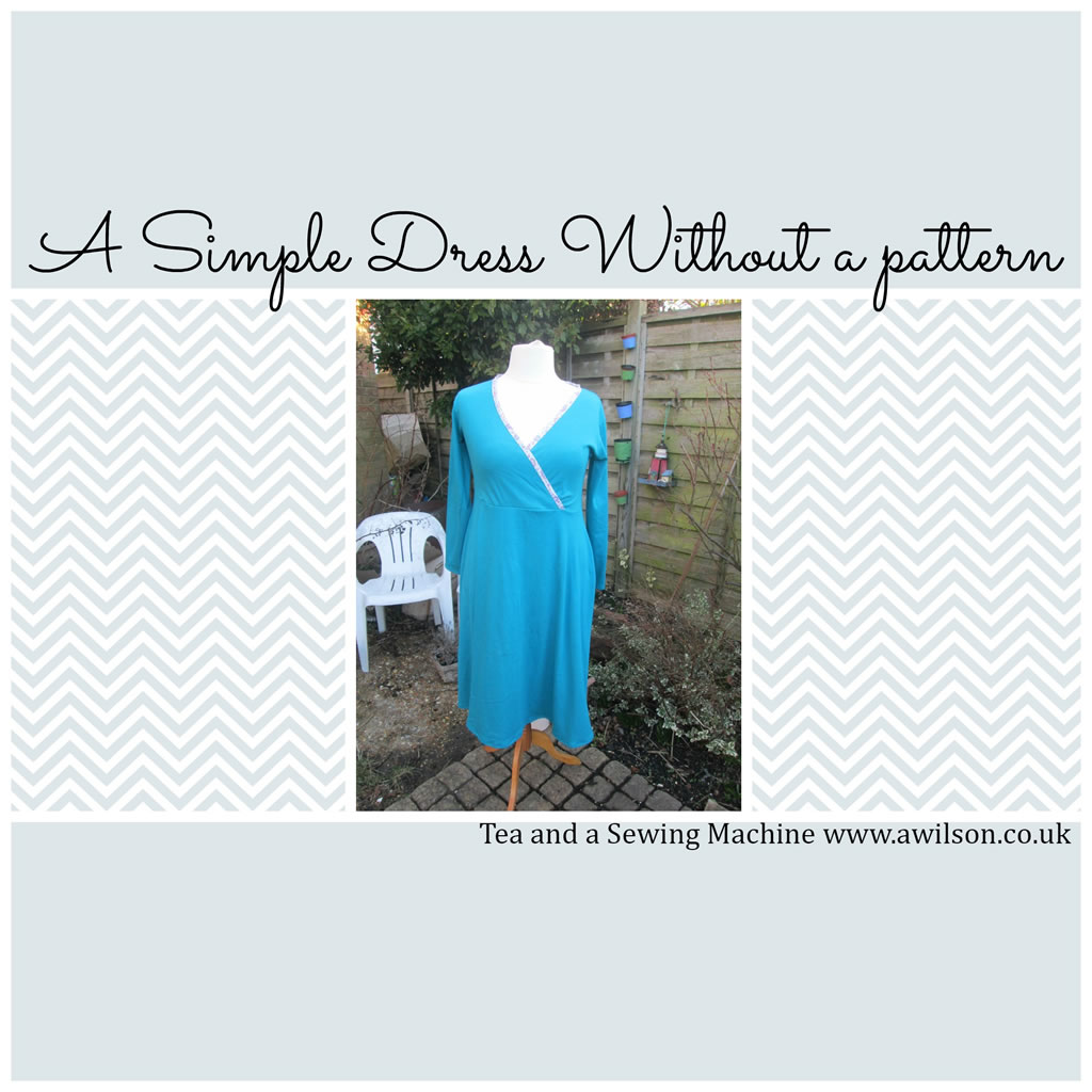 simple dress without a pattern