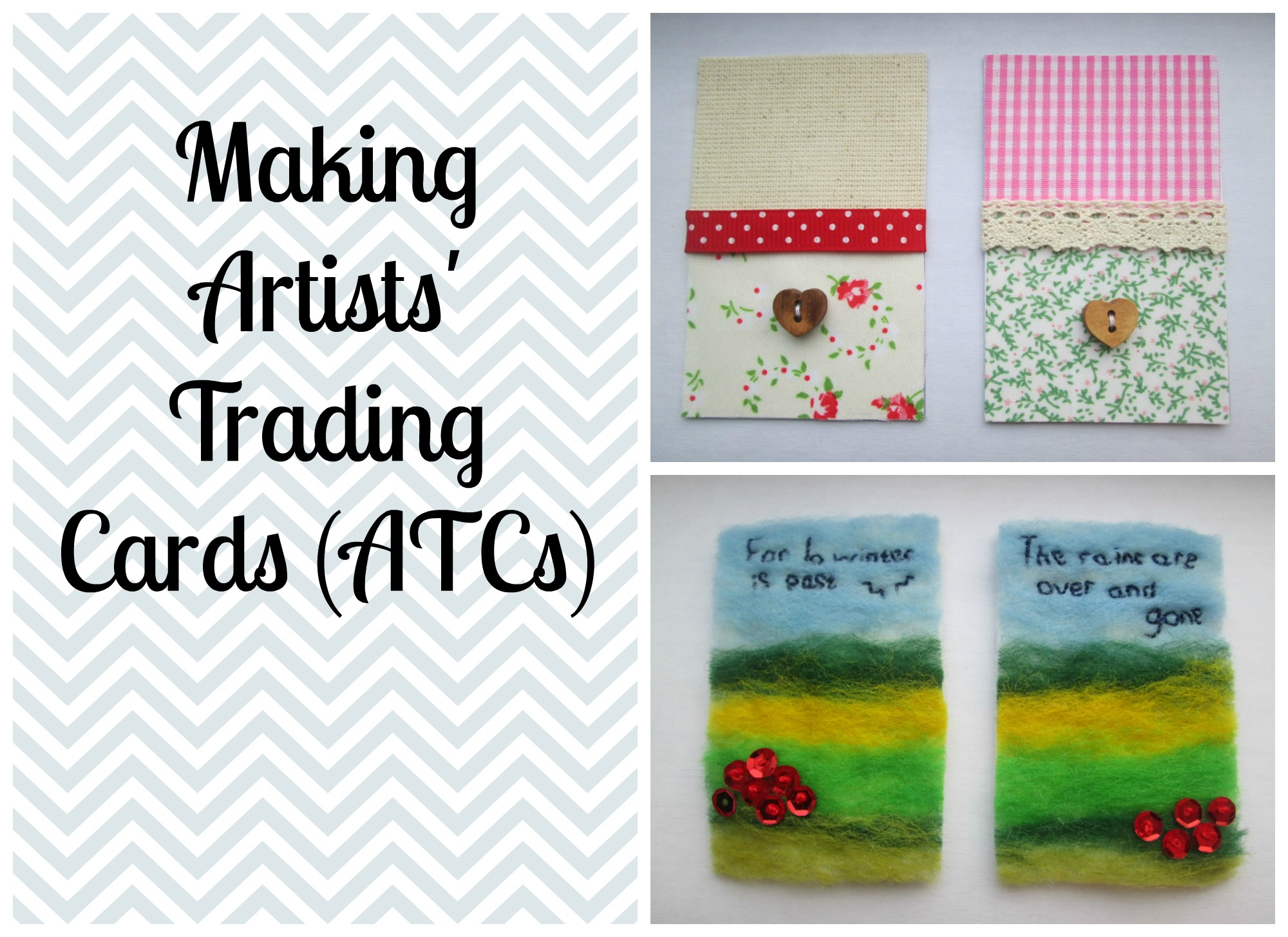making artists' trading cards
