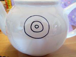 sharpie teapot