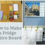 fridge notice board
