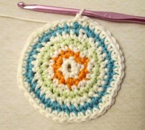 crochet a circle