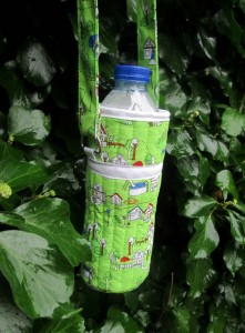 how to make a water bottle carrier quick and easy handmade gift ideas