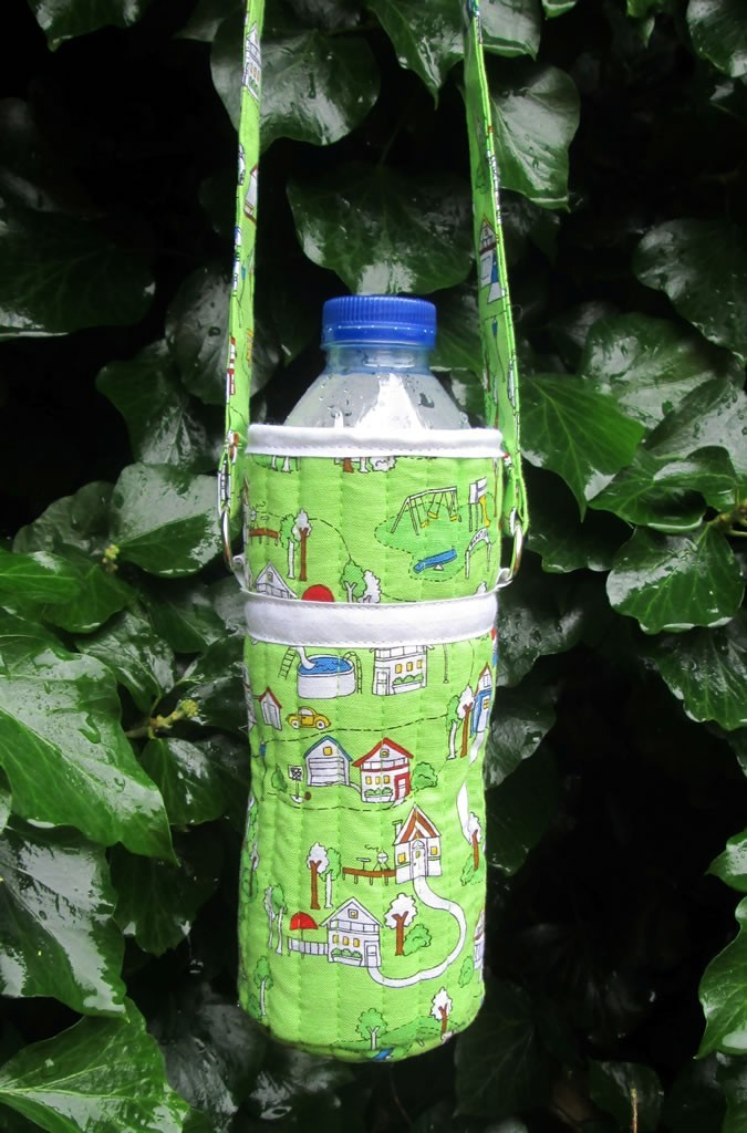 how to make a water bottle carrier