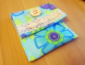 easy button purse quick and easy handmade gift ideas