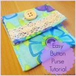 easy button purse tutorial