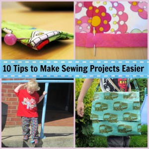 10 tips to make sewing projects easier