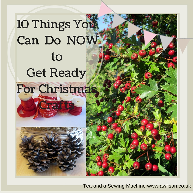 get ready for christmas crafts