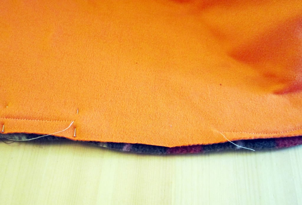altering a pattern toddler jacket lining 1