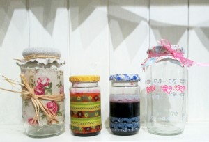 making jars pretty quick and easy handmade gift ideas