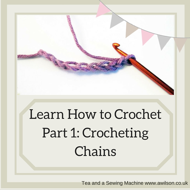 learn how to crochet chain stitch
