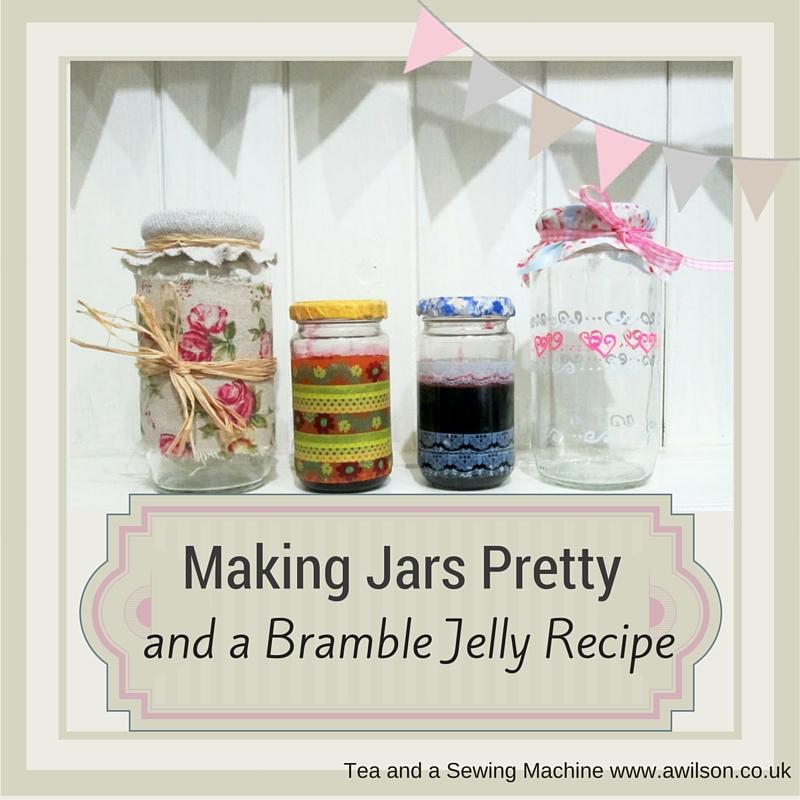 making jars pretty
