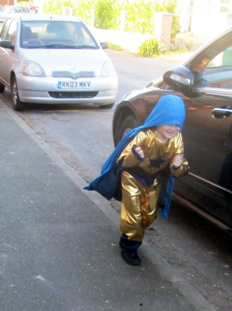 booster gold superhero costume outfit suit