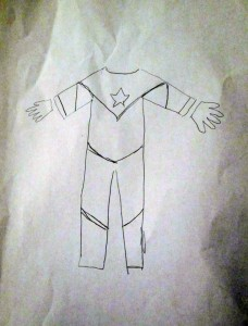 diy booster gold superhero costume outfit suit