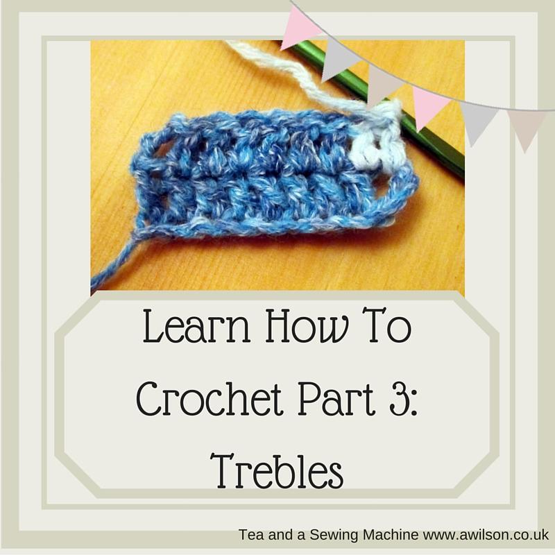 how to crochet trebles