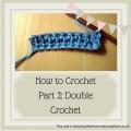 crochet for beginners how to do double crochet