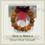 dried fruit wreath, citrus wreath, natural christmas burlap and lace tied wreath