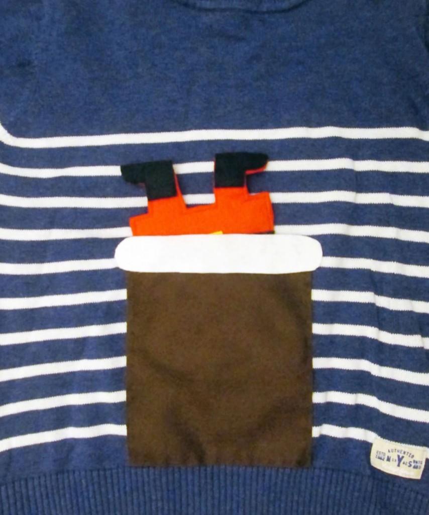 interactive diy christmas jumper