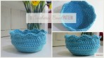 crocheted bowl pattern