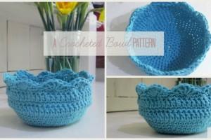 crocheted bowl pattern