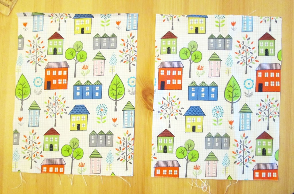 fabric diary cover journal notebook