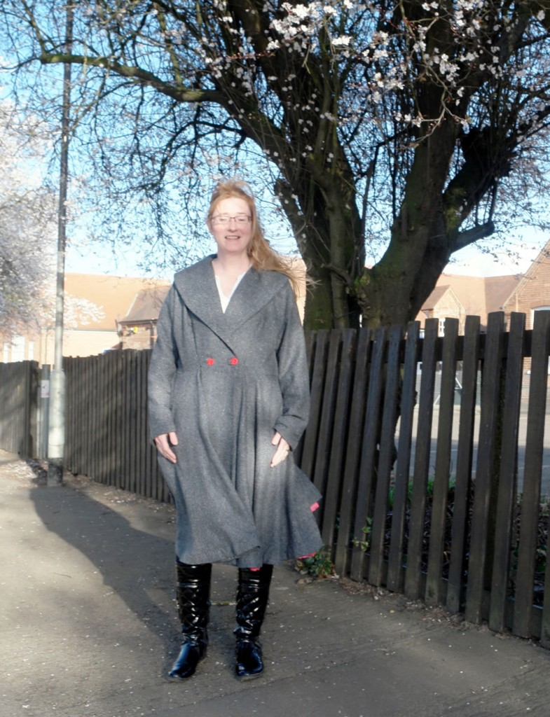 vintage coat Butterick B5824