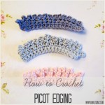picot edging fringed edging