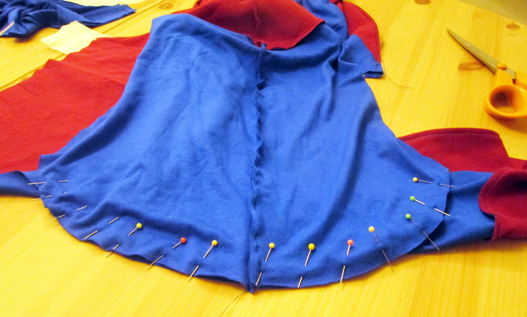 diy the atom superhero style costume