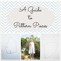collage pattern pieces