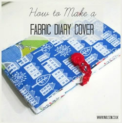 diary cover grid