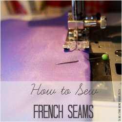 french seams square