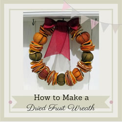 dried fruit wreath
