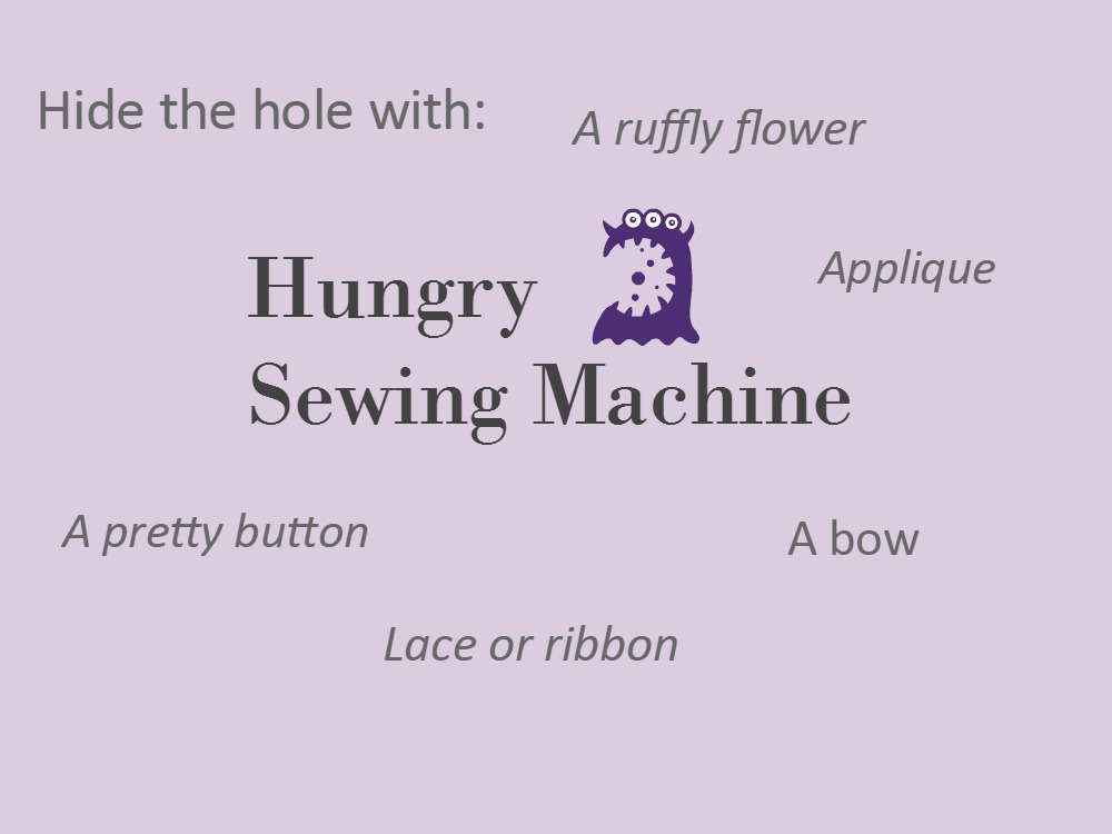 sewing project goes wrong how to fix it
