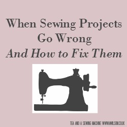 sewing projects wrong square