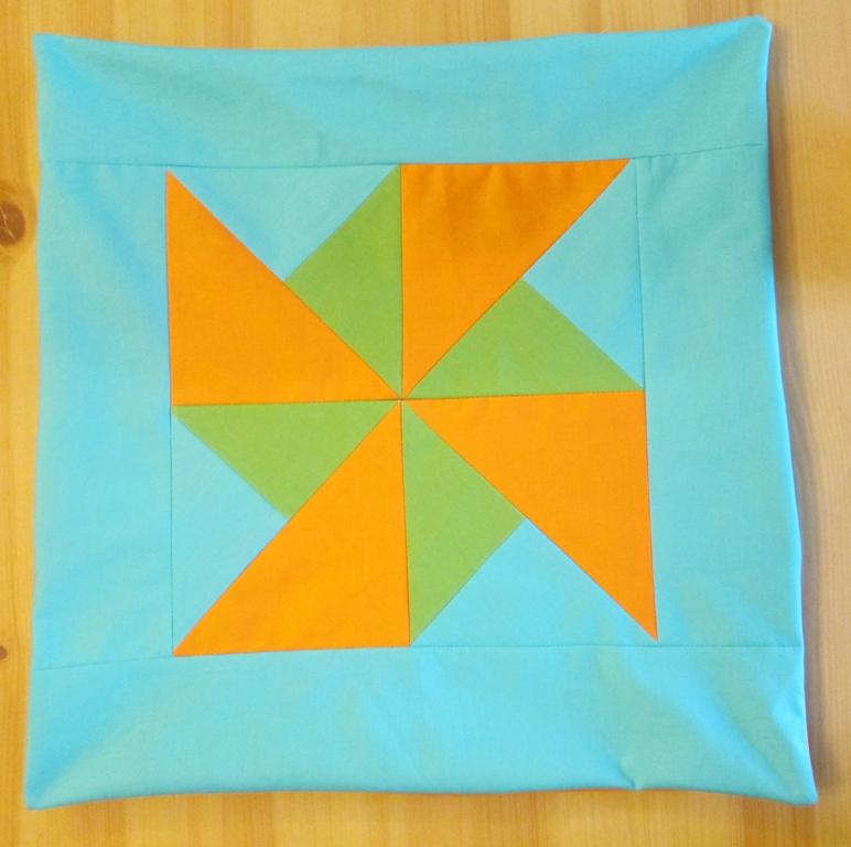 quilt block cushions