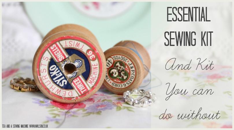 essential sewing kit