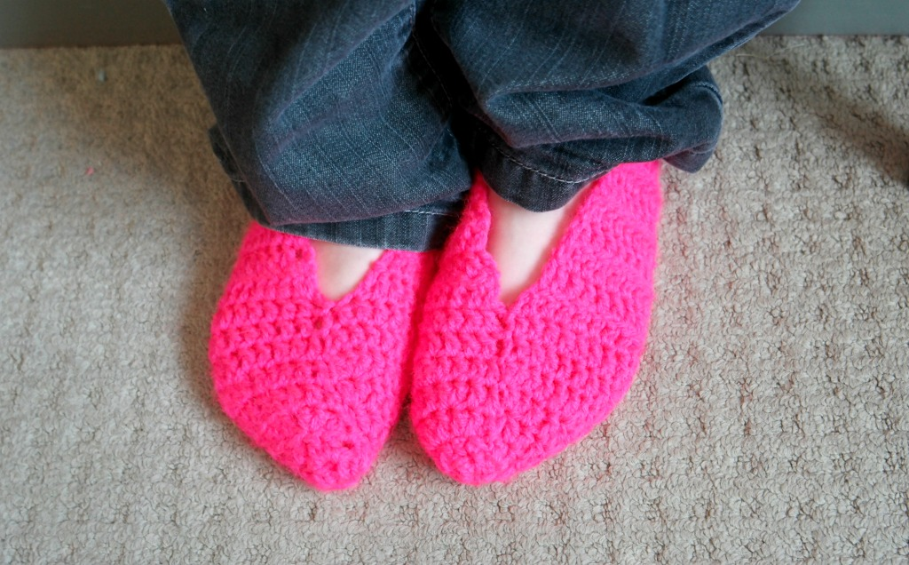 crocheted slippers tutorial how to