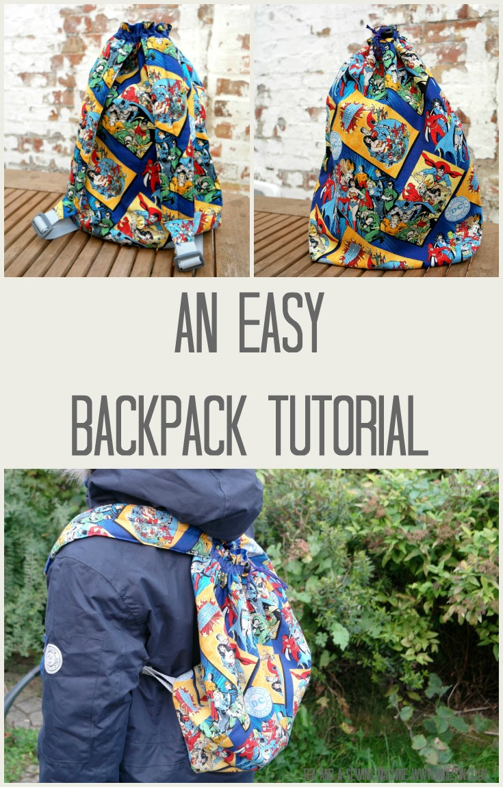 easy backpack tutorial