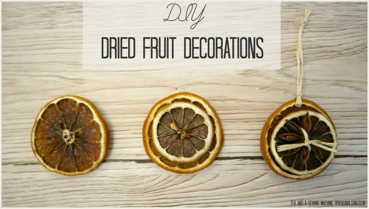 how to make dried fruit decorations