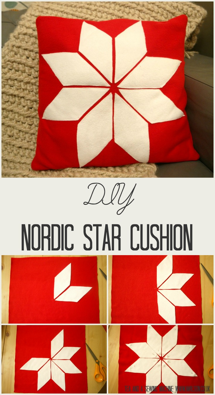 nordic star cushion tutorial