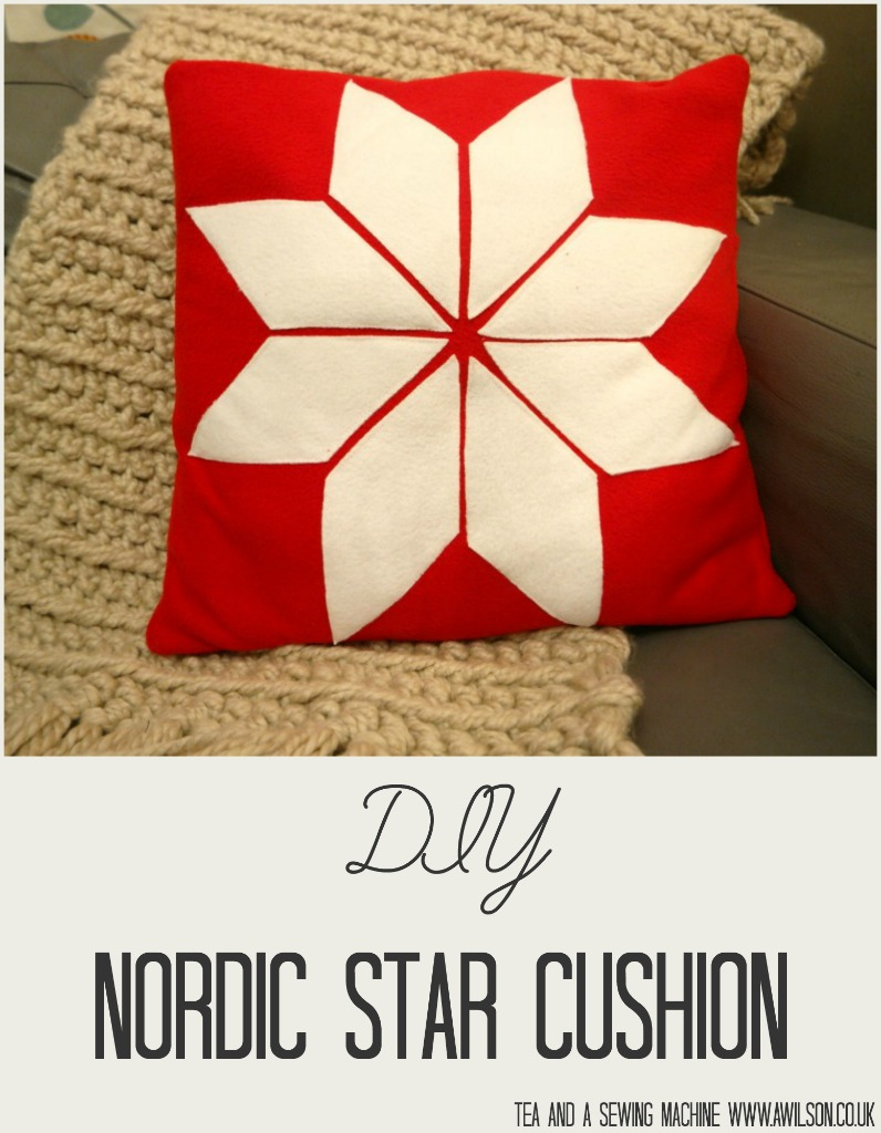 nordic star cushion cover