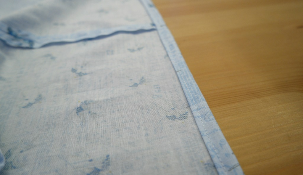 how to line a wooden box with fabric