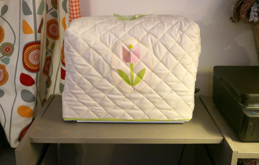 finding space to sew in a small house